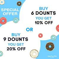 Special Offer from Gonuts with Donuts