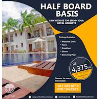 Half Board Basis for Rs 4375 at Hotel Tamarind Tree
