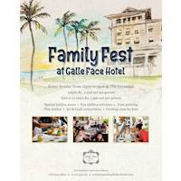 Family Fest Sunday Lunch at Galle Face Hotel