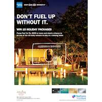 Pump fuel to win a stay for two at any Jetwing Hotel with American Express Cards