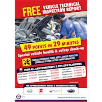 FREE Vehicles Technical Inspection Report