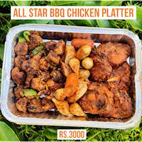 All Star BBQ Chicken Platter (Halal) by BBQ Junkies