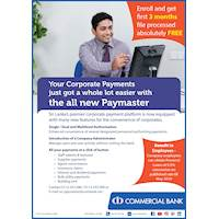 Now Corporate Payments are More Convenient With Combank Paymaster