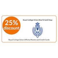 25% OFF on total bill at RCU Blue N Gold shop exclusively for all Sampath RCU Affinity Master Credit Cardholders