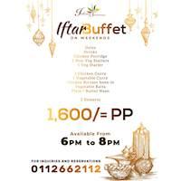 Iftar Buffet at Indian Summer LK on weekends!!
