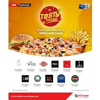 Tasty Tuesday - Enjoy fun offers from NDB credit cards