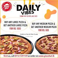 DAILY VIBES from Pizza Hut!