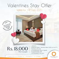 Valentine's Stay Offer at Mandarina Colombo