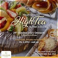 High Tea Buffet at Galadari Hotel