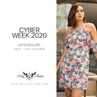 Cyber Week 2020 : Up to 60% OFF at Kelly Felder