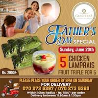 Father's Day Special at GRANDEEZA