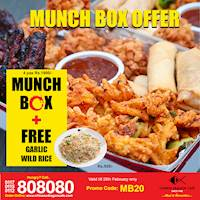 Munch Box Offer at Chinese Dragon Cafe!!