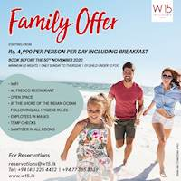 Stay at W15 Weligama for Rs 4,990 per person per day including breakfast