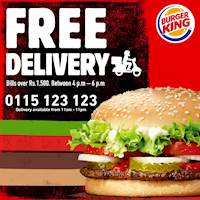 FREE Delivery from Burger King!!