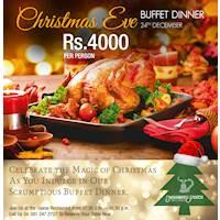 Christmas Eve Buffet Dinner at Mahaweli Reach Hotel
