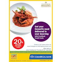 Get 20% discount for ComBank Credit Cards from The Kingsbury Hotel