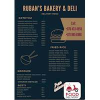 Free Delivery at Ruban's Bakery & Deli