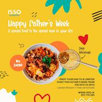 Order Lobster Biriyani for this father's day at Isso