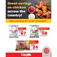 Great savings on chicken across Cargills FoodCity outlets islandwide!