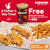 A Father's Day Treat Special from Popeyes!