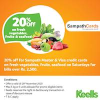 Sampath Bank Promotions, Deals, Offers and Discounts - Sri ...