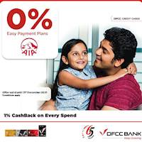 Enjoy 12 months 0% Easy Payment Plans for AIA Insurance Policyholders with DFCC Credit Cards!