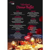 Special Valentine's Dinner Buffet at The Shore by O!