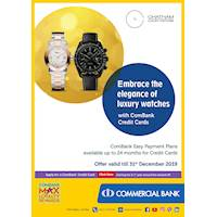 Commercial bank Easy Payment plan available at Chatham Luxury Watches