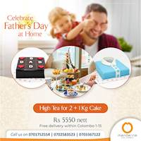 High Tea for just Rs 5500 nett at Mandarina Colombo for Father's day