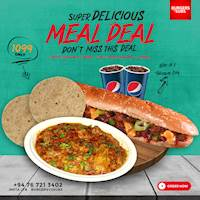 Super Delicious MEAL DEAL Just for Rs.1099 at Burgers Vs Subs
