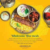 Enjoy traditional Ifthar delights as well as an extravagant international dinner buffet during the holy month of Ramadan