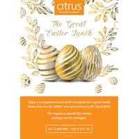 A GREAT EASTER LUNCH at Citrus Hotels