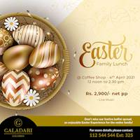 Easter Family Lunch at Coffeeshop, Galadari Hotel