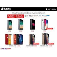 Get up to Rs. 25,000 off, Free iPhone Back cover + Screen Protector and up to 60 months interest free on Select Cards at Abans