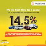 The Best Leasing Solution for REGISTERED and UNREGISTERED Vehicles with Sampath Leasing
