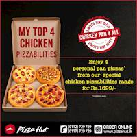 CHICKEN PAN 4 ALL with Pizza Hut!