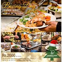 Boxing Day Dinner Buffet at Mahaweli Reach Hotel