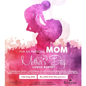 Mother's Day Lunch Buffet at Ramada Hotel