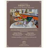 Galle Face Hotel High Tea