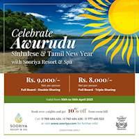 Celebrate Avurudu with Sooriya Resort and Spa