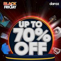 Black Friday Sale - Up to 70% OFF at Daraz!