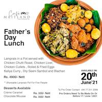 Father's Day Lunch at Mount Lavinia Hotel