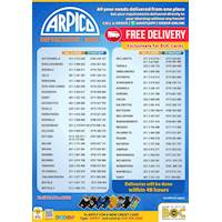 Free delivery from Arpico Supermarkets Exclusively for BOC Cards