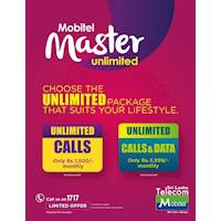Choose the unlimited package that suits your lifestyle