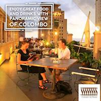 25% Off BOC Credit Card Holder at Colombo City Hotel (Panorama Rooftop Restaurant)