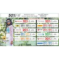 Enjoy amazing discounts this season up to 30% OFF on Cards & 50% OFF on sale items at Beverly Street