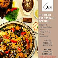 The Radh Eid Biriyani Special!