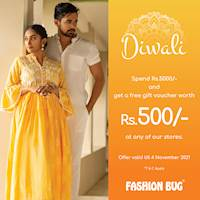 Diwali exclusive offer at Fashion Bug