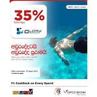 Enjoy 35% savings at Glory Swim Shop with DFCC Credit Cards!