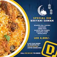 Special Eid Biriyani Sawan at Dinemore